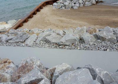 Sea Wall Repair